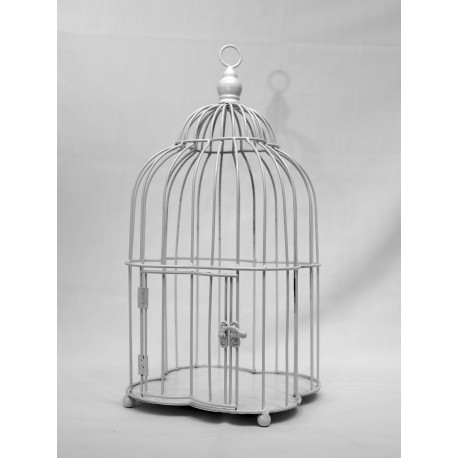 Cage blanche simple